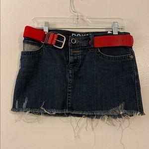 ROXY Denim Women's Skirt come with belt